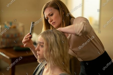 Esme Creed-Miles as Hanna and Mireille Enos as Marissa Wiegler