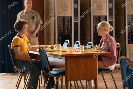 Stock Photo of Gianna Kiehl as Jules Allen and Aine Rose Daly as Sandy Phillips/Girl 242