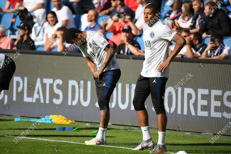 Photo éditoriale de Le Havre v Paris Saint-Germain, Friendly football match, Stade Oceane, Le Havre, France - 12 Jul 2020