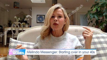 Stock Image of Melinda Messenger