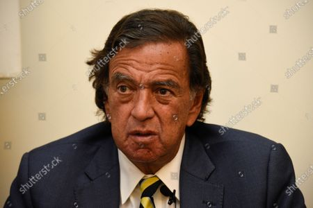 Former New Mexico Gov. Bill Richardson gives an interview in Yangon, Myanmar. Richardson will travel the week of July 13, 2020, to Venezuela to urge President Nicolás Maduro to free several jailed Americans as a goodwill gesture aimed at easing tensions with the U.S., according to The Richardson Center in an annoucement on