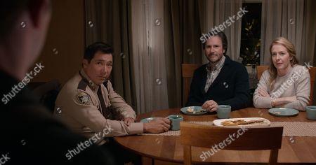 Benito Martinez as Sheriff Daughtry, Josh Hamilton as Matt Jensen and Amy Hargreaves as Lainie Jensen