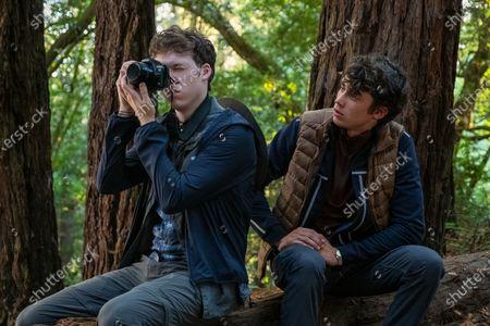 Devin Druid as Tyler Down and Deaken Bluman as Winston Williams