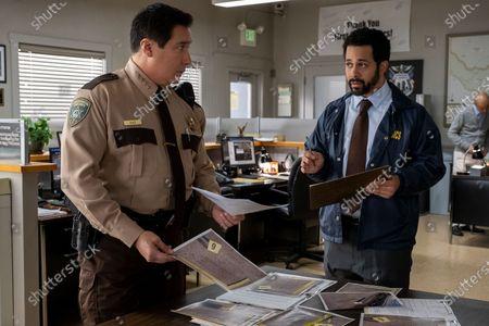 Stock Photo of Benito Martinez as Sheriff Daughtry