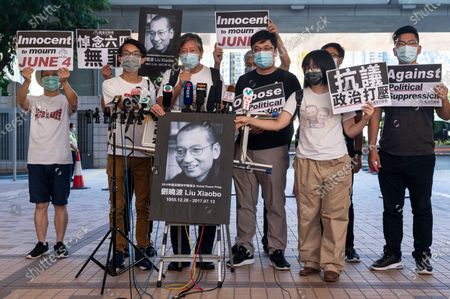 Editorial picture of Activists appeared in court in Hong Kong, China - 13 Jul 2020