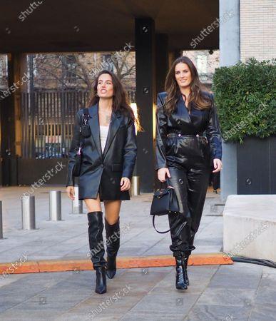 MILANO, Italy: 11 January 2020: Fashion bloggers street style outfits before Neil Barrett fashion show during Milano Fashion Week man 2020