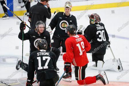 Editorial photo of Blackhawks Hockey, Chicago, United States - 13 Jul 2020