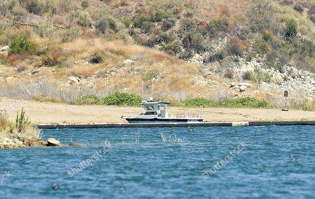 Image éditoriale de Search for Naya Rivera, Lake Piru, Ventura County, California, USA - 13 Jul 2020
