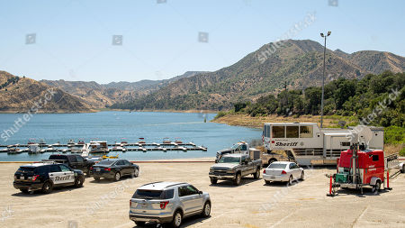 Onsite Command Post and communications at Lake Piru for the Ventura County Sheriffs