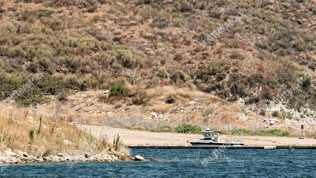 Ventura County Sheriffs Boat now sits empty after the was body found and moved to a separate landing for follow up.