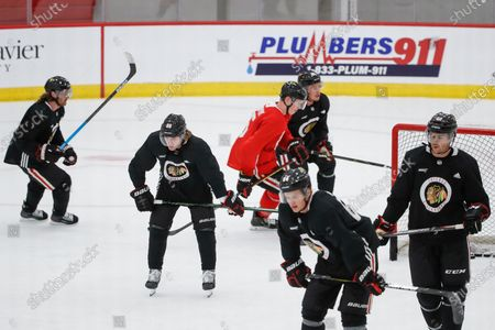 Editorial picture of Blackhawks Hockey, Chicago, United States - 13 Jul 2020