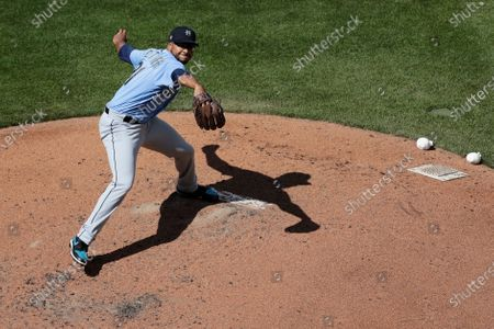"Seattle Mariners pitcher Aaron Fletcher throws during a ""summer camp"" intrasquad baseball game, in Seattle"
