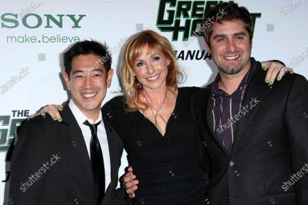 Grant Imahara, Kari Byron, Tory Belleci