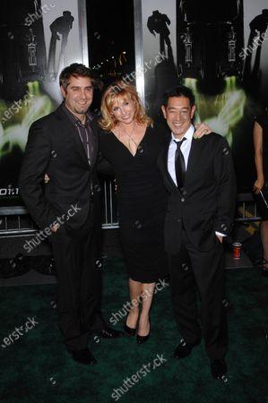 Tory Belleci, Kari Byron and Grant Imahara