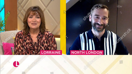 Stock Photo of Lorraine Kelly, Charlie Condou