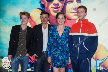 Editorial photo of 'Summer Of 85' film photocall, Paris, France - 13 Jul 2020