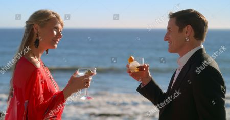 Gwyneth Paltrow as Georgina Hobart and Sam Jaeger as Tino McCutcheon