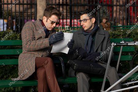 Ben Platt as Payton Hobart and Ryan J. Haddad as Andrew Cashman