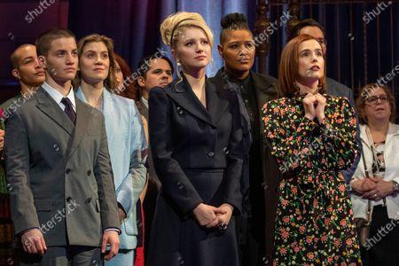 Theo Germaine as James Sullivan, Laura Dreyfuss as McAfee Westbrook, Julia Schlaepfer as Alice Charles, Rahne Jones as Skye Leighton and Zoey Deutch as Infinity Jackson