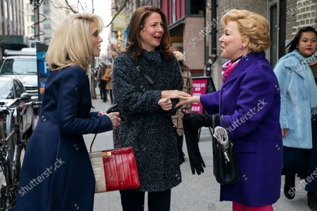 Stock Photo of Judith Light as Dede Standish, Robin Weigert as Andi Mueller and Bette Midler as Hadassah Gold