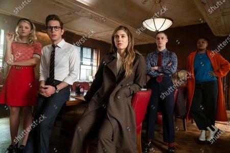 Julia Schlaepfer as Alice Charles, Ben Platt as Payton Hobart, Laura Dreyfuss as McAfee Westbrook, Theo Germaine as James Sullivan and Rahne Jones as Skye Leighton