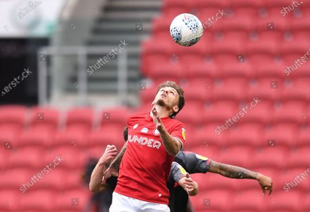 Editorial image of Bristol City v Stoke City, Sky Bet Championship, Football, Ashton Gate, Bristol, UK - 15 Jul 2020