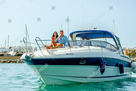 Stock Photo of Grant Crapp and Tayla Damir go on a date.