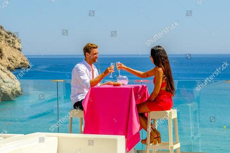 Josh Moss and Amelia Plummer go on a date.
