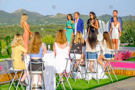 Stock Image of The Final: Sophie Monk, Amelia Plummer and Josh Moss, Grant Crapp and Tayla Damir and Erin Barnett and Eden Dally.