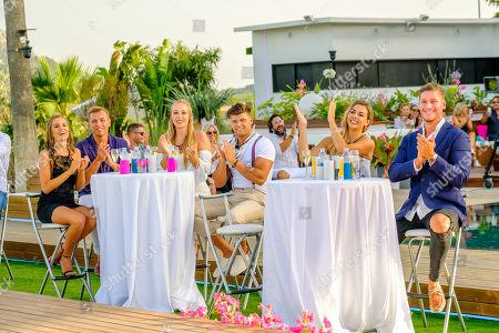 Stock Image of The Final: Millie Fuller, Mark O'Dare, Edyn Mackney aka Edyn Mackney, Teddy Briggs, Shelby and Dom.