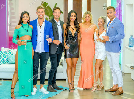 Stock Photo of The Final: Amelia Plummer and Josh Moss, Grant Crapp and Tayla Damir, Sophie Monk and Eden Dally and Erin Barnett.