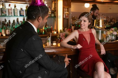 Kingsley Ben-Adir as Grant and Anna Kendrick as Darby