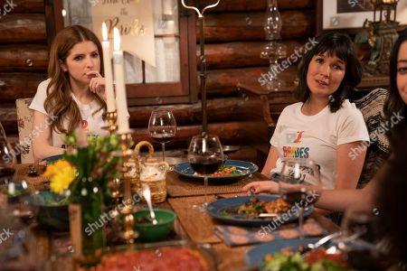 Anna Kendrick as Darby and Zoe Chao as Sara Yang