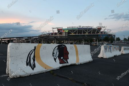 After the Washington redskins retired it's name today, the final sunset on the name as we knew them has occurred at FEDEX field. Many signs around the stadium will have to be replaced.