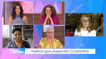 Andrea McLean, Nadia Sawalha, Denise Welch, Brenda Edwards, Susannah Constantine