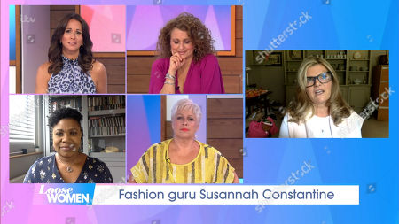 Stock Image of Andrea McLean, Nadia Sawalha, Denise Welch, Brenda Edwards, Susannah Constantine