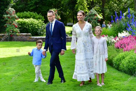 Editorial image of Princess Victoria's birthday celebrations, Solliden Palace, Borgholm, Sweden - 14 Jul 2020