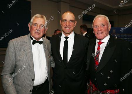 Leeds Utd players Norman Hunter Vinnie Jones and Eddie Gray