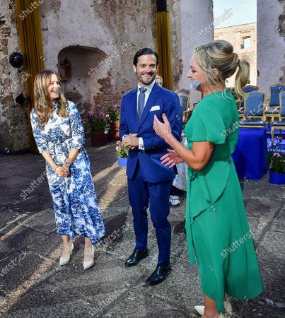 Editorial photo of Crown Princess Victoria of Sweden birthday celebrations, Borgholm, Sweden - 14 Jul 2020