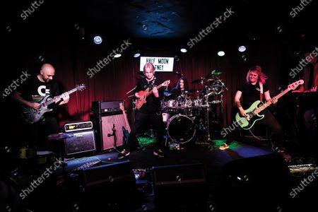 Editorial image of ZIO in concert, The Half Moon, London, UK - 21 Oct 2018