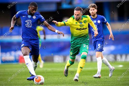 Editorial image of Chelsea FC vs Norwich City, London, United Kingdom - 14 Jul 2020