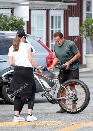 Editorial photo of Arnold Schwarzenegger out and about, Los Angeles, USA - 14 Jul 2020