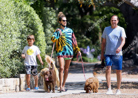 Editorial picture of Alessandra Ambrosio out and about, Los Angeles, USA - 14 Jul 2020