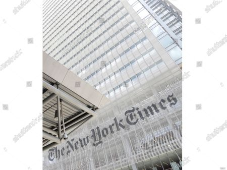 """The exterior of the New York Times building in New York. An editor and writer for The New York Times' opinion section has publicly resigned, saying she was harassed for ideas that didn't conform with a liberal point of view. Bari Weiss was one of two journalists to quit jobs Tuesday while alleging that """"woke"""" culture is crowding out dissenting points of view. Andrew Sullivan, a conservative columnist at New York magazine, also said he was leaving"""