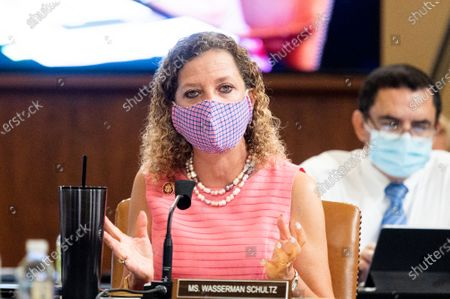 U.S. Representative, Debbie Wasserman Schultz (D-FL) speaking at the House Committee on Appropriations Markup of the FY2021 Defense, Commerce, Justice, Science, and Related Agencies and Transportation, Housing and Urban Development, and Related Agencies Appropriations Bills.