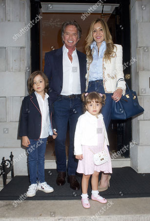 Editorial picture of Celebrities at Annabel's members club, Mayfair, London, UK - 14 Jul 2020