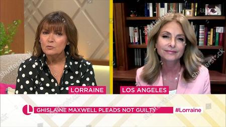 Lorraine Kelly and Lisa Bloom