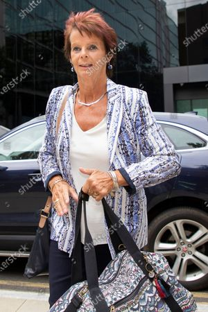 Stock Picture of Former Minister for Women Anne Milton arrives at Southwark Crown Court after being dropped off by former MP Margot James . It is not known whether she is involved in the Charlie Elphicke case.