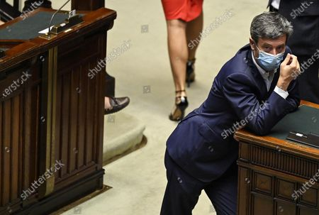 Editorial photo of Session of the Chamber of Deputies in Rome, Italy - 15 Jul 2020