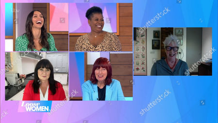 Christine Lampard, Brenda Edwards, Coleen Nolan, Janet Street-Porter and Jenny Eclair
